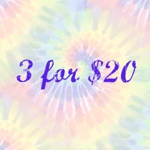 Other - 💟 3/$20 Sale! Tons of Items Added!